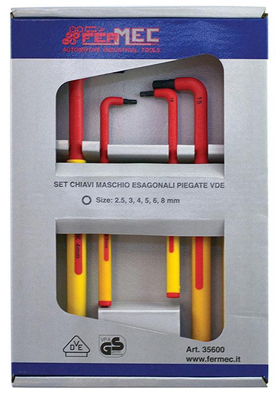 brugole isolate VDE Kit 6 chiavi esagonali